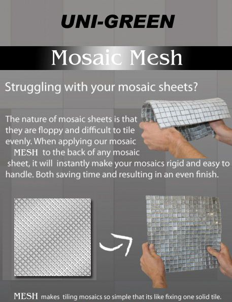 Mosaic Tile Mesh Manufacturer For Recessed Shower Niche Preformed Abs