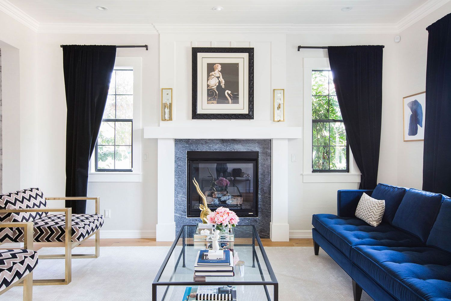 Classic Hollywood Glamour from Homepolish | Rue | home invasion ...