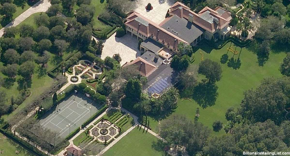 Mansion Of Billionaire Carol Jenkins Barnett In Lakeland Fl Mansions Mega Mansions Lakeland