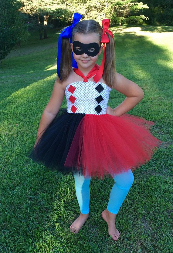 3ae639e0a DC Superhero girls Harley Quinn costume by totallytutubychristy ...