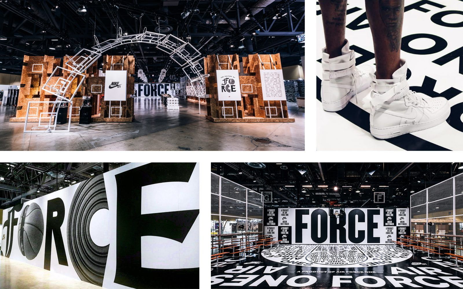 NIKE ComplexCon National forest, Retail interior, National