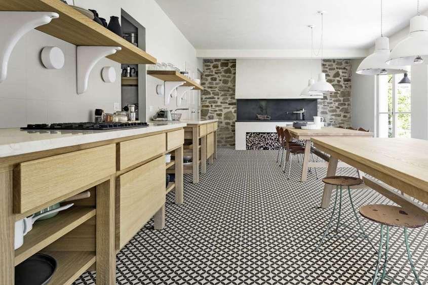 Arredare la cucina con le piastrelle cementine - Cementine in gres ...
