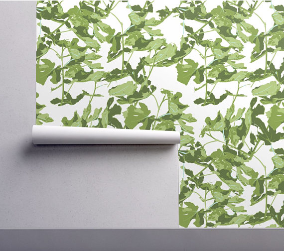 Pin By Emily Todoran On Home Office Inspo Peel And Stick Wallpaper Leaf Wallpaper Palm Wallpaper
