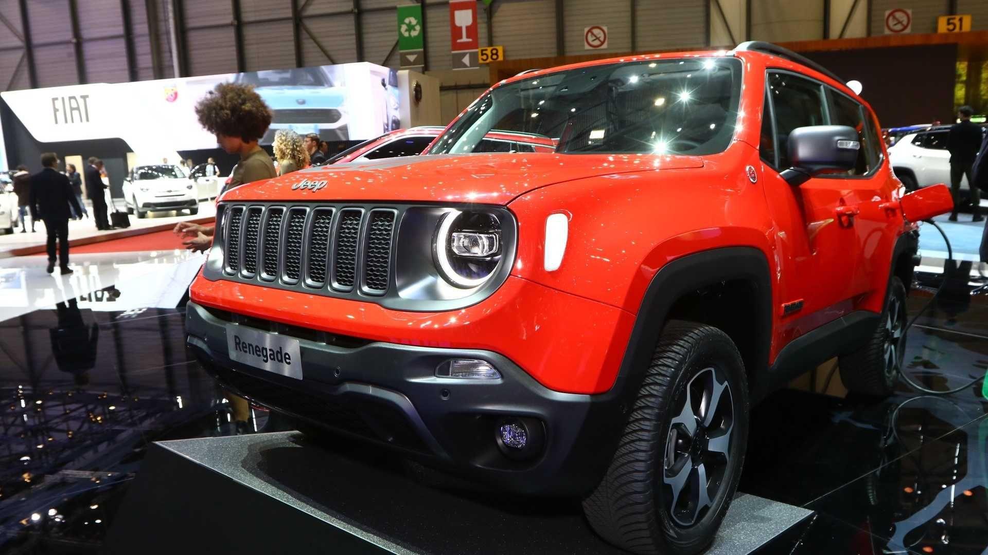 2020 Jeep Renegade Hybrid Geneva Motor Show Моти