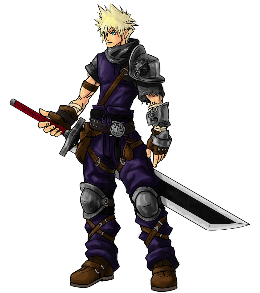 Medieval Cloud Strife By Kenji893 On Deviantart Cloud Strife Final Fantasy Vii Cloud Final Fantasy Art