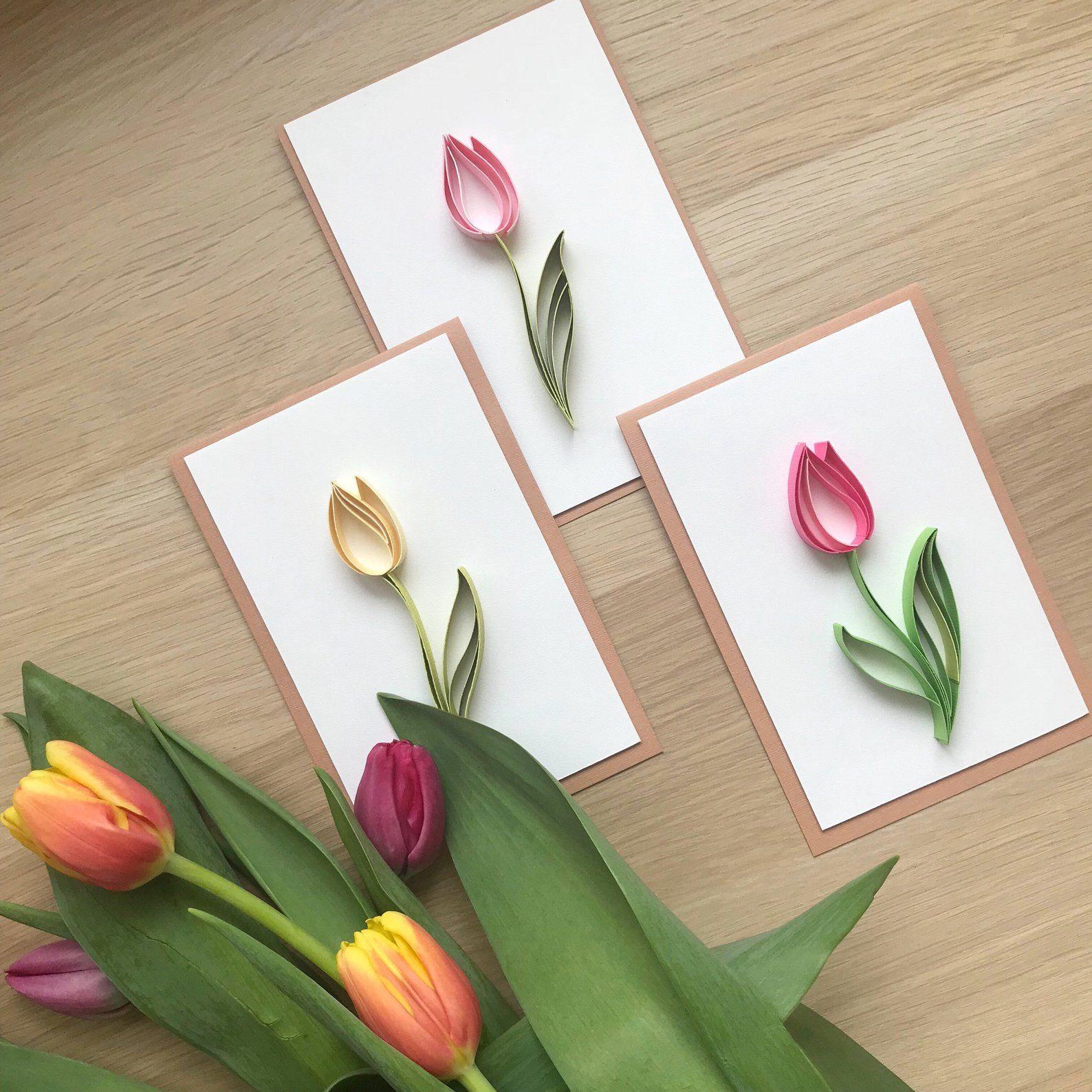 стильные открытки на 8 марта своими руками можно