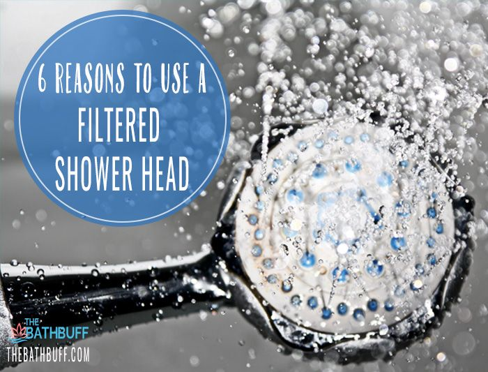 Reasons to Use a Filtered Shower Head