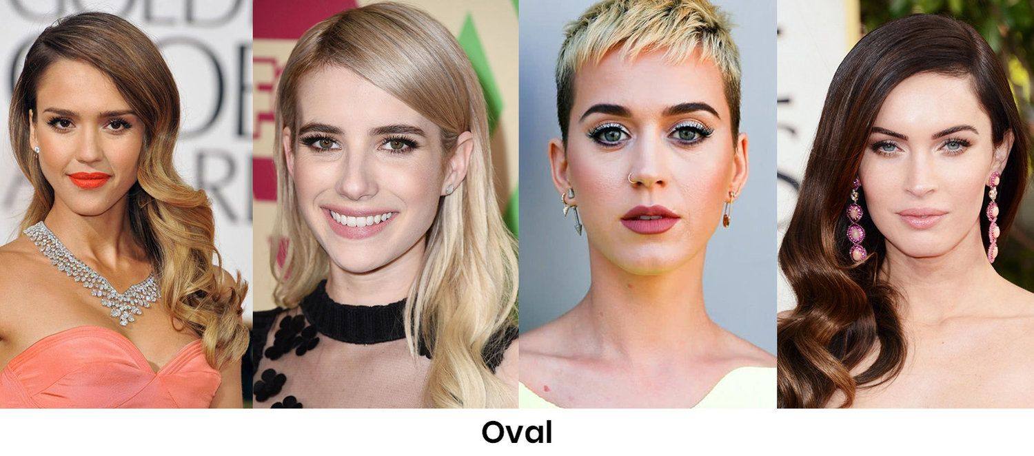 Oval face shape | HOWTOWEAR Fashion in 2020 | Face shapes, Oval face  shapes, Oval faces