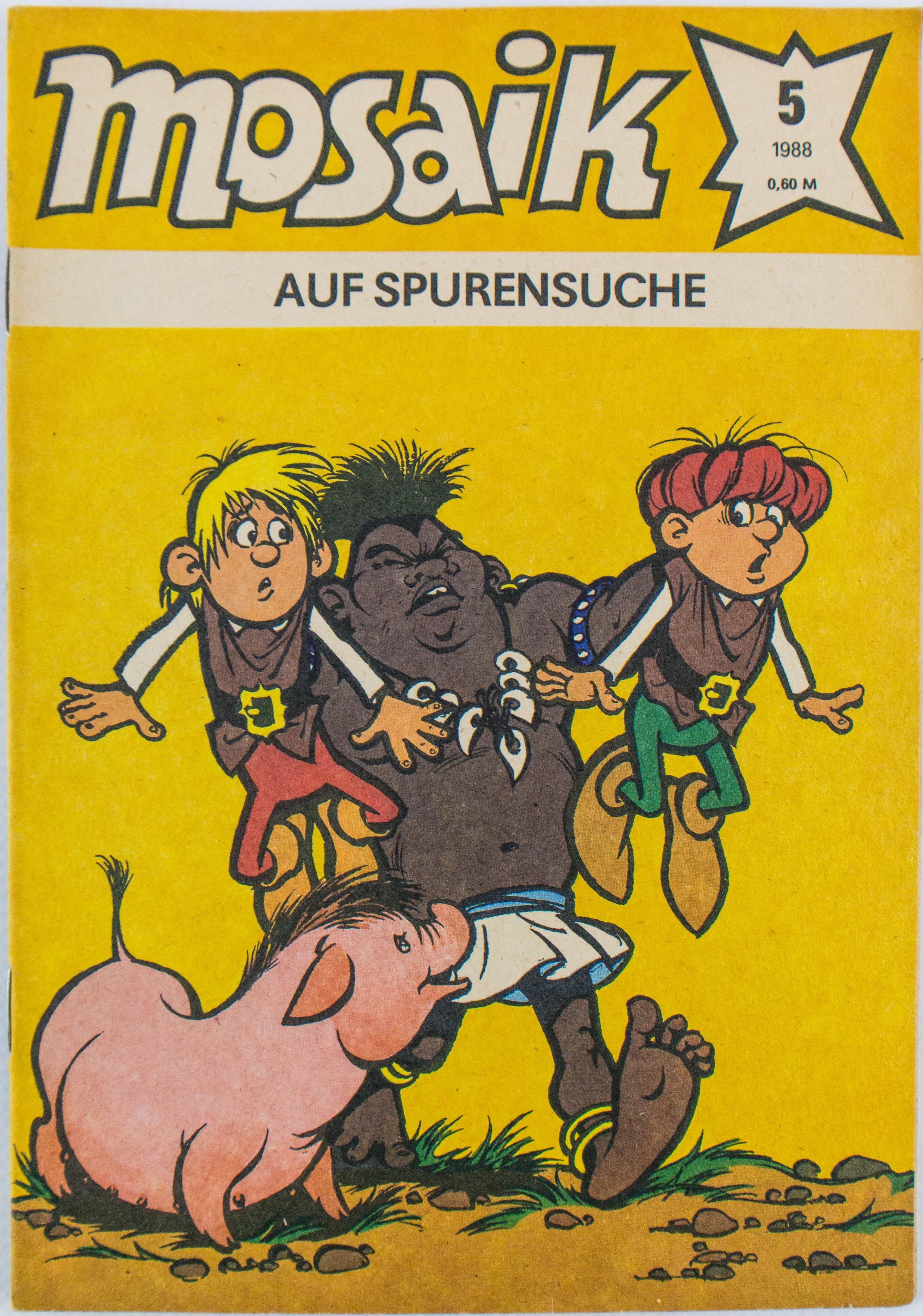 """DDR Museum - Museum: Objektdatenbank - """"Mosaik 1988"""" Copyright: DDR Museum, Berlin. Eine kommerzielle Nutzung des Bildes ist nicht erlaubt, but feel free to repin it!"""