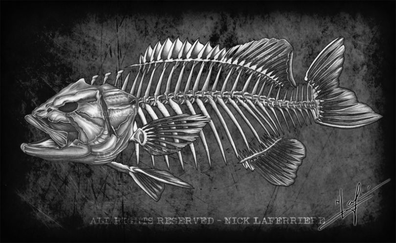 I Thought That Smallmouth Bass Fanatics Needed A New Spin On Art Introducing The