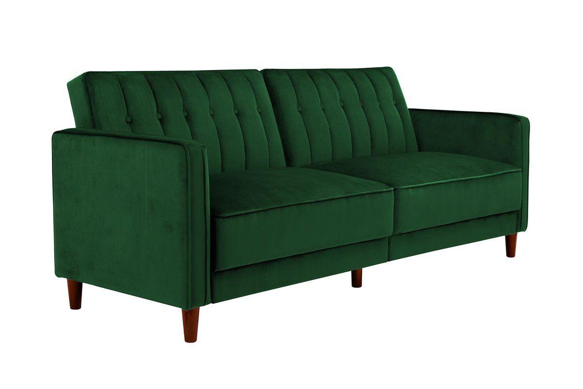 Nia Pin Tufted Convertible Sofa & Reviews | AllModern | chez ...