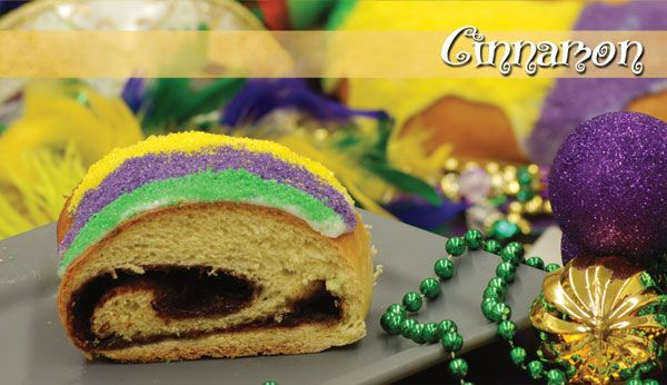 Cinnamon King Cake From Atwoods Bakery In Alexandria