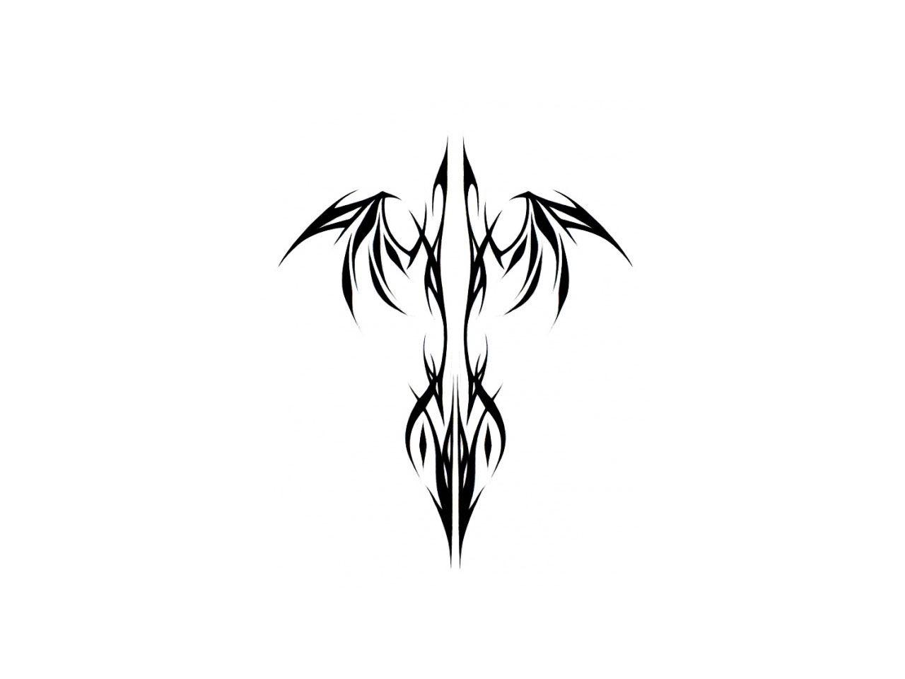 tribal phenix galerie tatouage. Black Bedroom Furniture Sets. Home Design Ideas