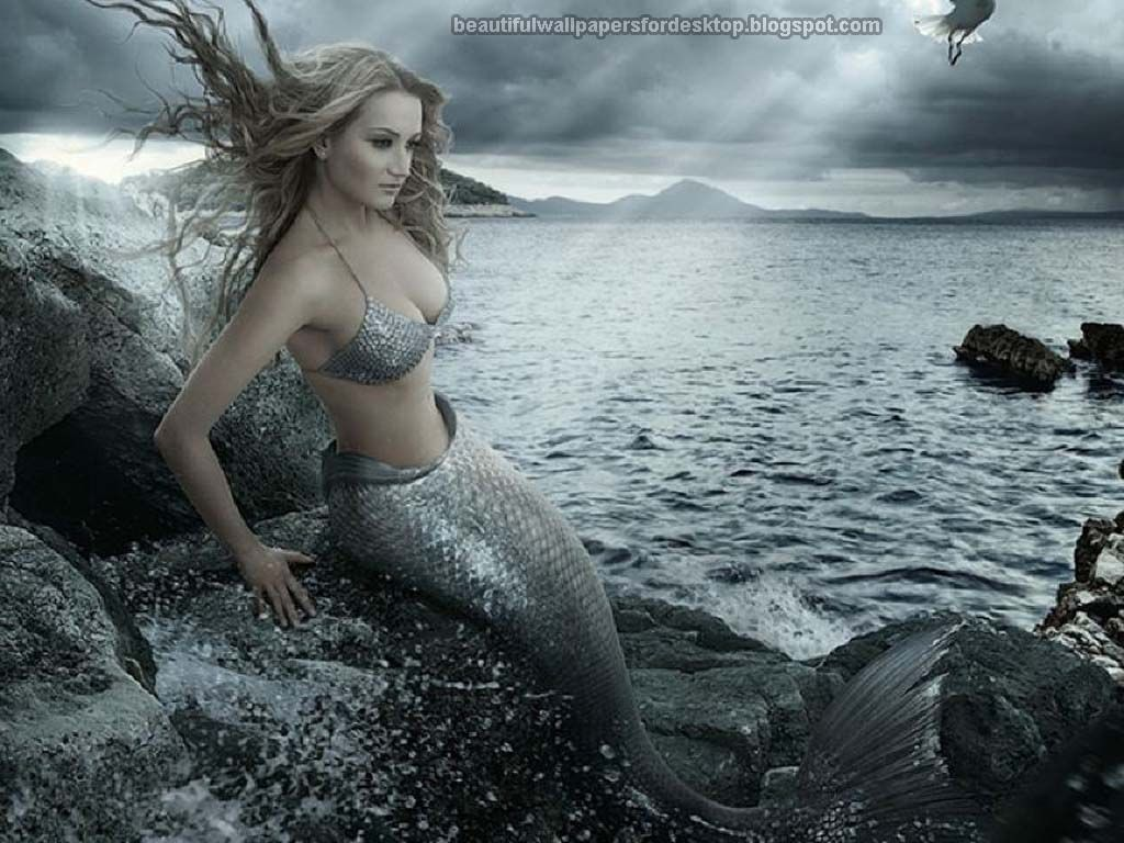 sexy mythical creatures beautiful mermaids wallpapers