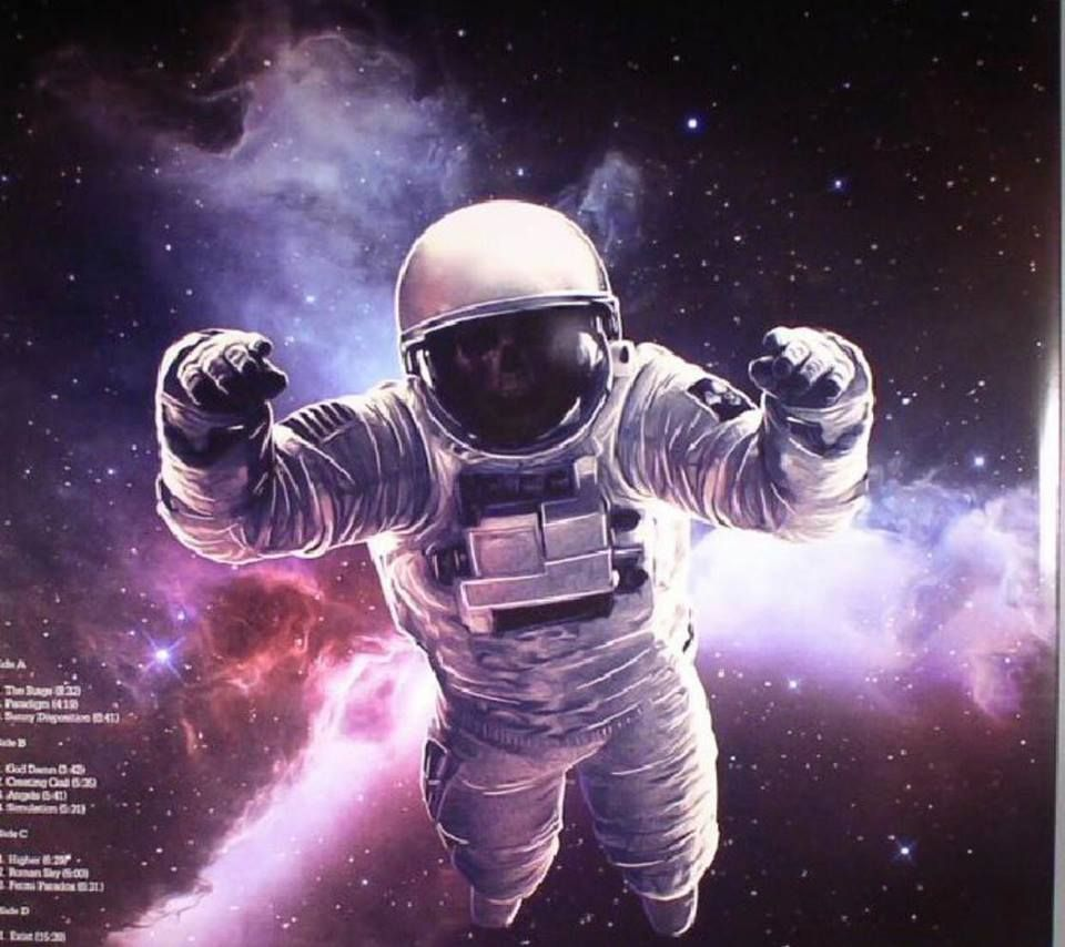 Pin By Anne Goth On Avenged Sevenfold Astronaut Art Album Cover Art Astronaut Wallpaper