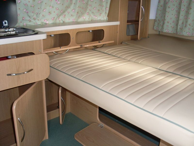Vw t2 new design interior light oak kombi camper for Kombi van interior designs