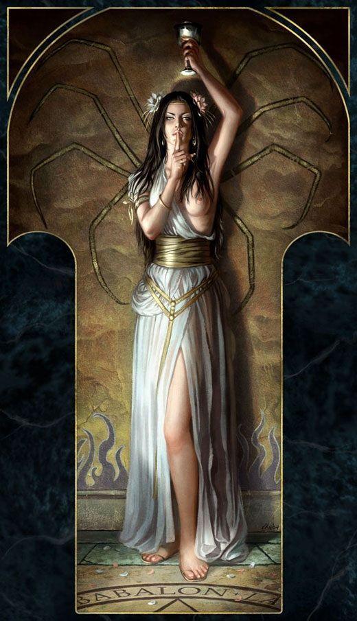 Fantasy Art Priestess Fantasy Art Priestess In White God