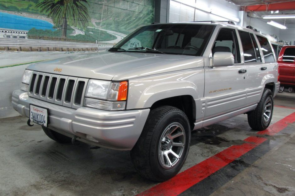 No Reserve 1998 Jeep Grand Cherokee 1998 jeep grand
