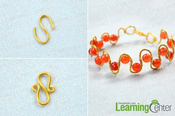 Finish How To Make A Wire Wred Bracelet