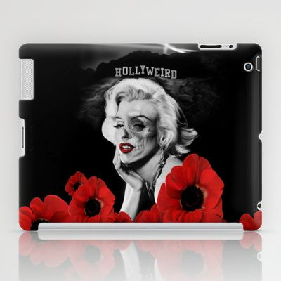 Hollyweird. iPad Case by Kristy Patterson Design - $60.00