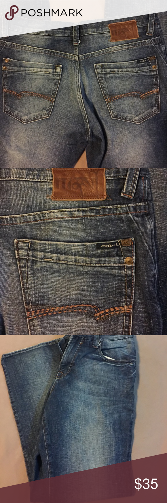 """Mavi """"Matt"""" Jeans Great relaxed fit jean. Excellent condition. 32•30 Mavi Jeans Relaxed"""