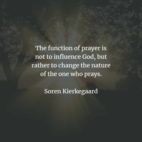 100 Prayer quotes and sayings that demonstrate its power