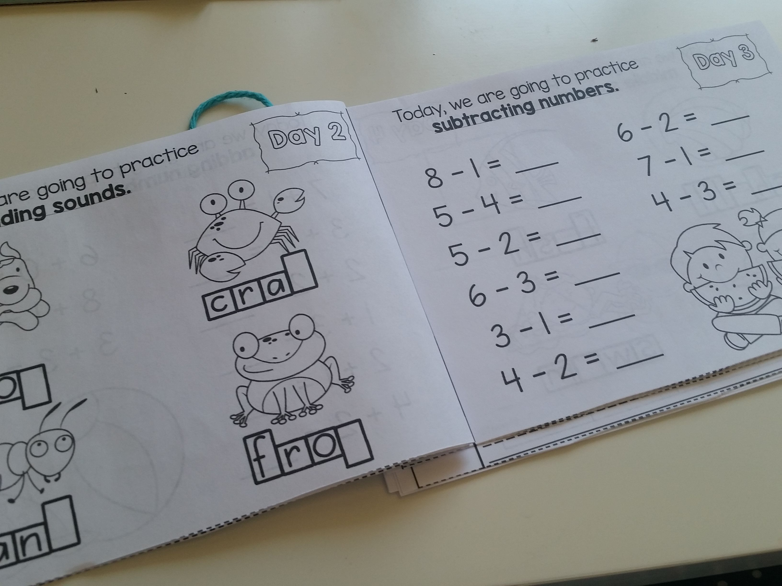 Summer Packet Kindergarten Summer Review Packet