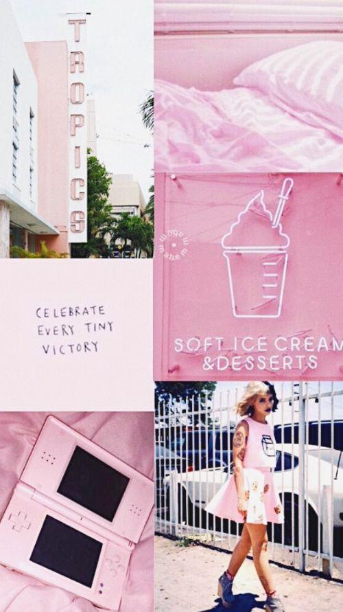 melanie martinez light pink aesthetic tumblr wallpaper