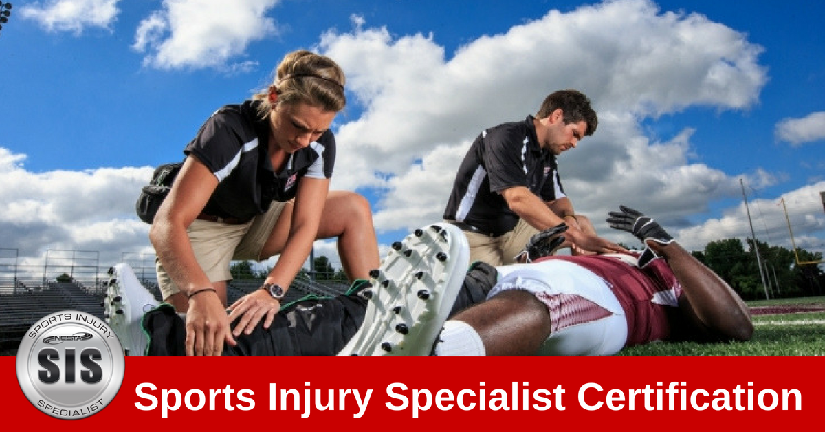 Sport Injury Specialist Course Athletic trainer