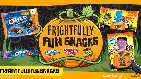 SOUR PATCH Kids® and SWEDISH FISH® Soft & Chewy Candy Frightfully Fun Snacks Party