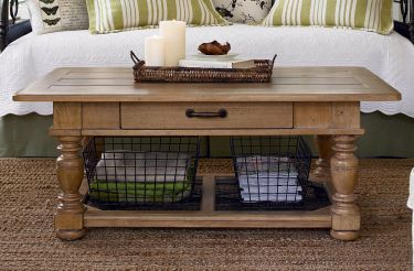 Down Home Coffee Table, Paula Deen Home, Down Home