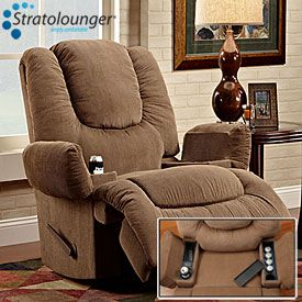 Stratolounger® Tailgater Bronson Rocker-Recliner With Heat u0026 Massage at Big Lots. : recliner with cooler - islam-shia.org
