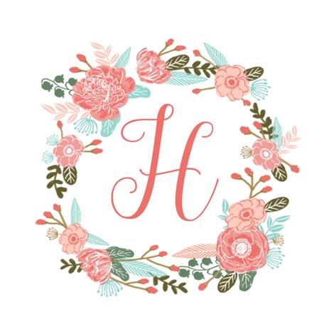 Image Result For Cute Letter H Lukisan Huruf Objek Gambar Kreatif