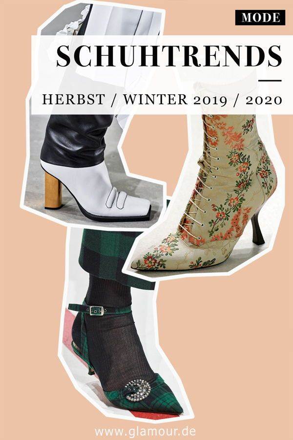 Schuhtrends HerbstWinter 20192020: Diese Schuhe sind jetzt