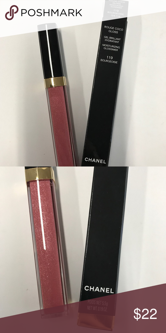 NIB CHANEL ROUGE COCO GLOSS This is the new Chanel Rouge