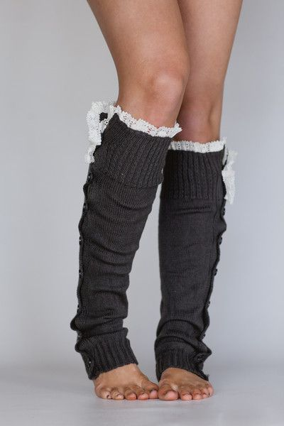 cute leg warmers with lace, boot cuffs, knitted styles, lace boot cuffs and socks for free spirited people legwear – three bird nest