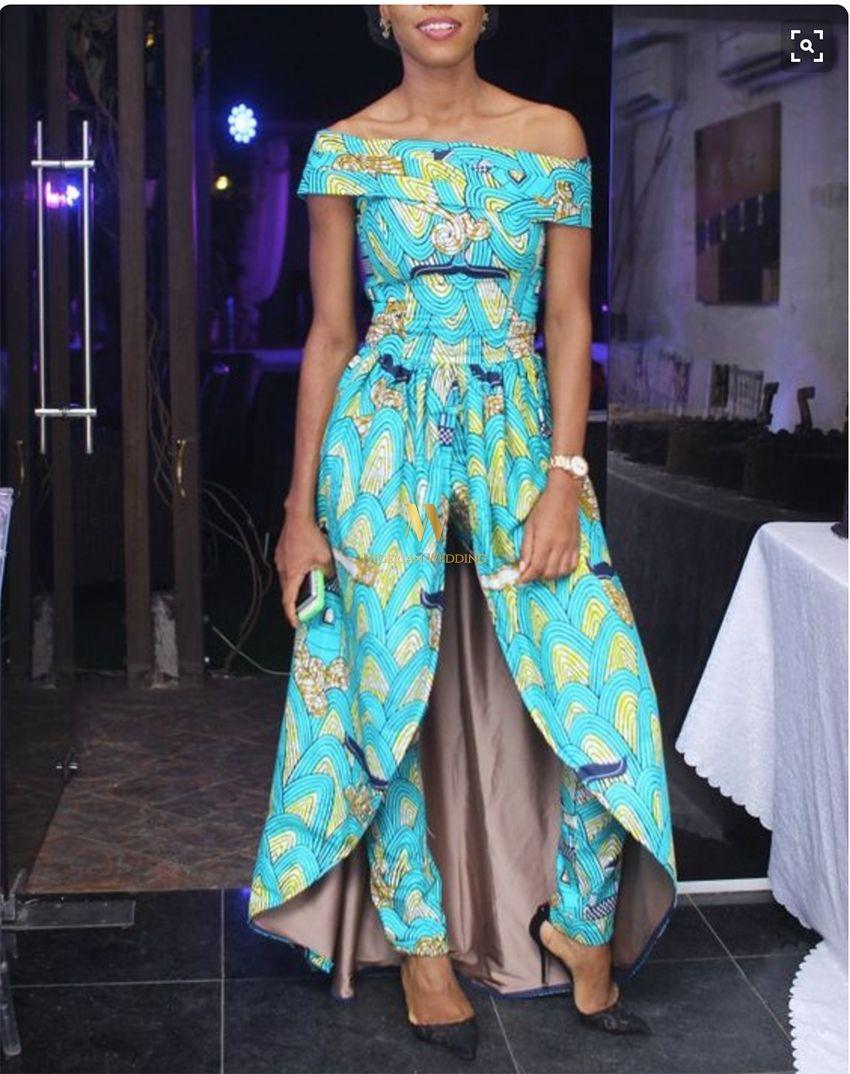 Latest Ankara Fashion: 100+ Super Stylish & Glam Ankara Jumpsuits ...