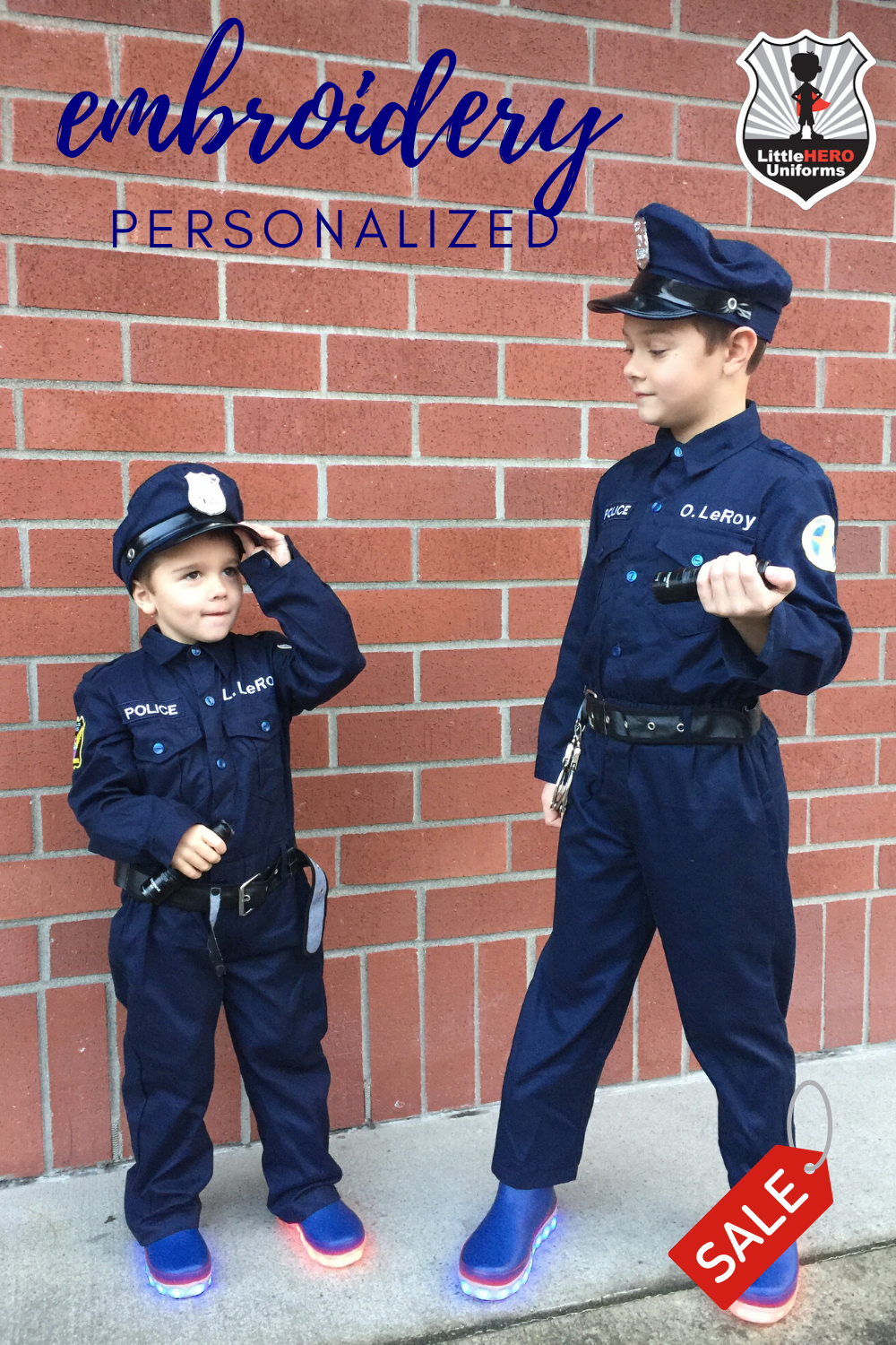 Authentic Personalized Kid S Police Costume Like The Real Uniform Kids Police Police Costume Kids Police Costume