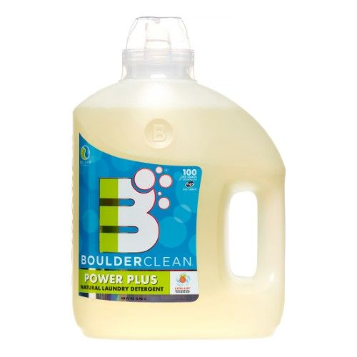 Boulder Clean Power Plus Laundry Detergent Fresh Citrus 100