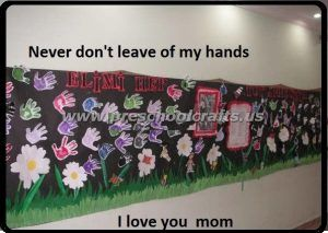 mothers day bulletin boards for preschoolers