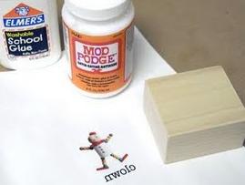 Deze is ook leuk!: inkjettransfer op hout