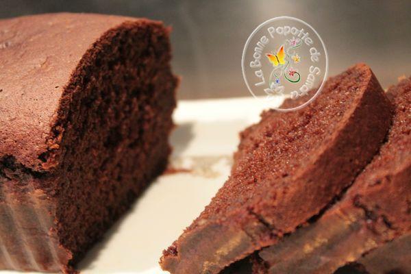 Cake au chocolat IG très bas – La bonne popotte de Sandra!