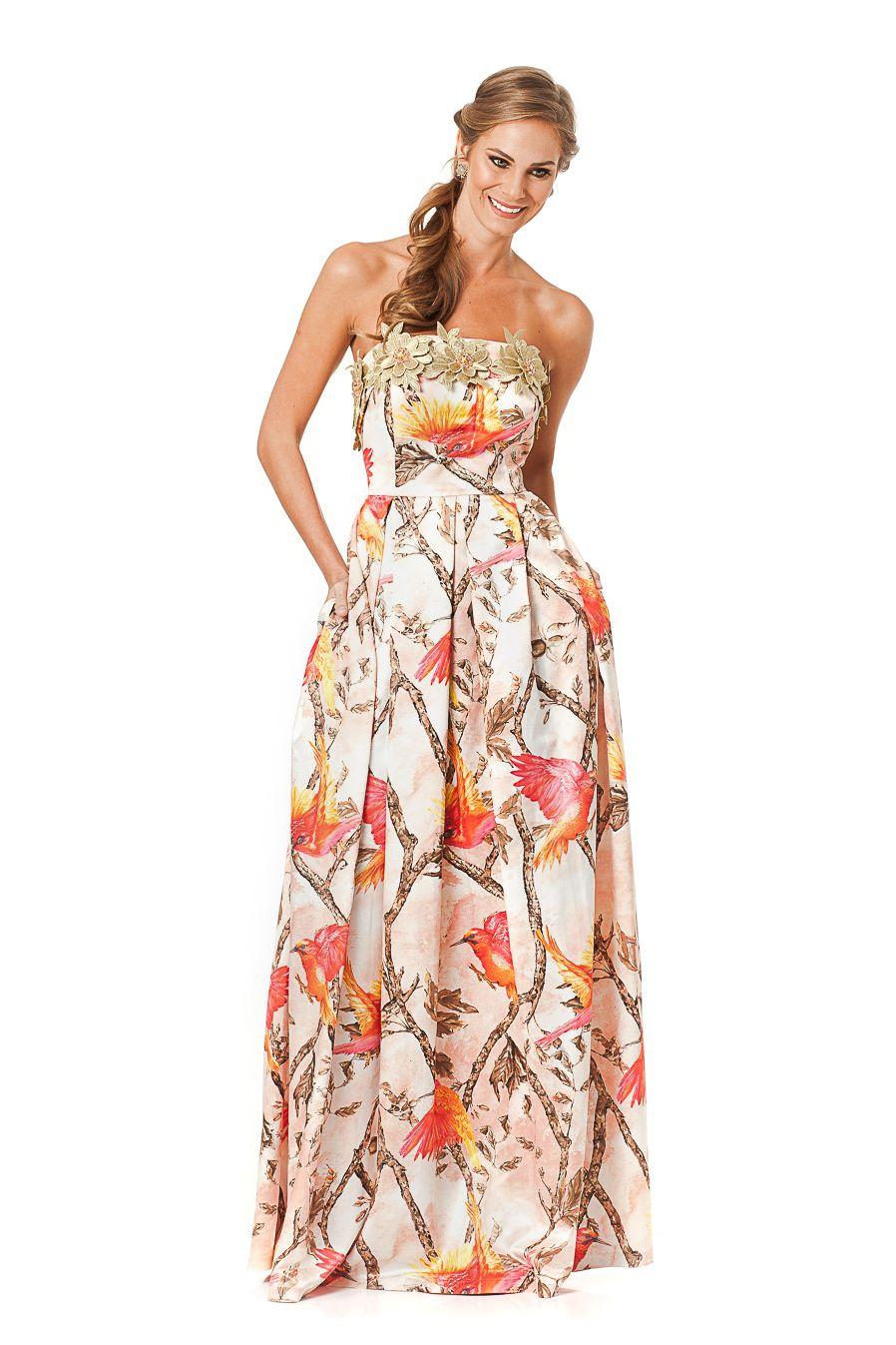Valor de vestido longo