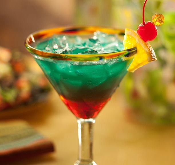 Colorful cocktail | Colorful cocktails, Margarita glass ...
