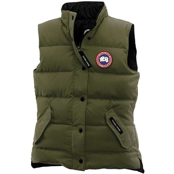 Canada Goose Women's Freestyle Vest ($350) ❤ liked on Polyvore featuring outerwear, vests