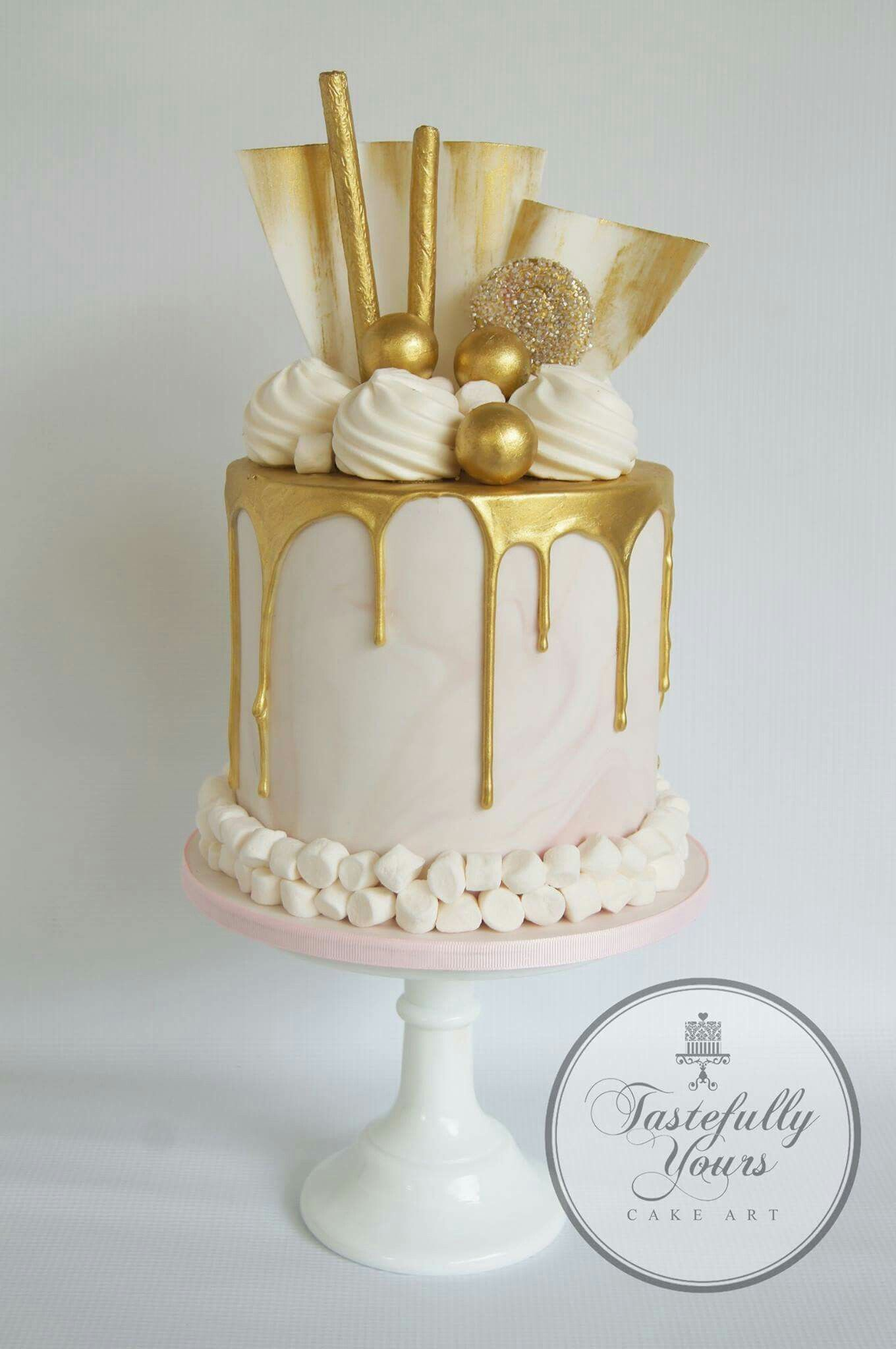Pin by Michelle Juranko on cakes Elegant birthday cakes