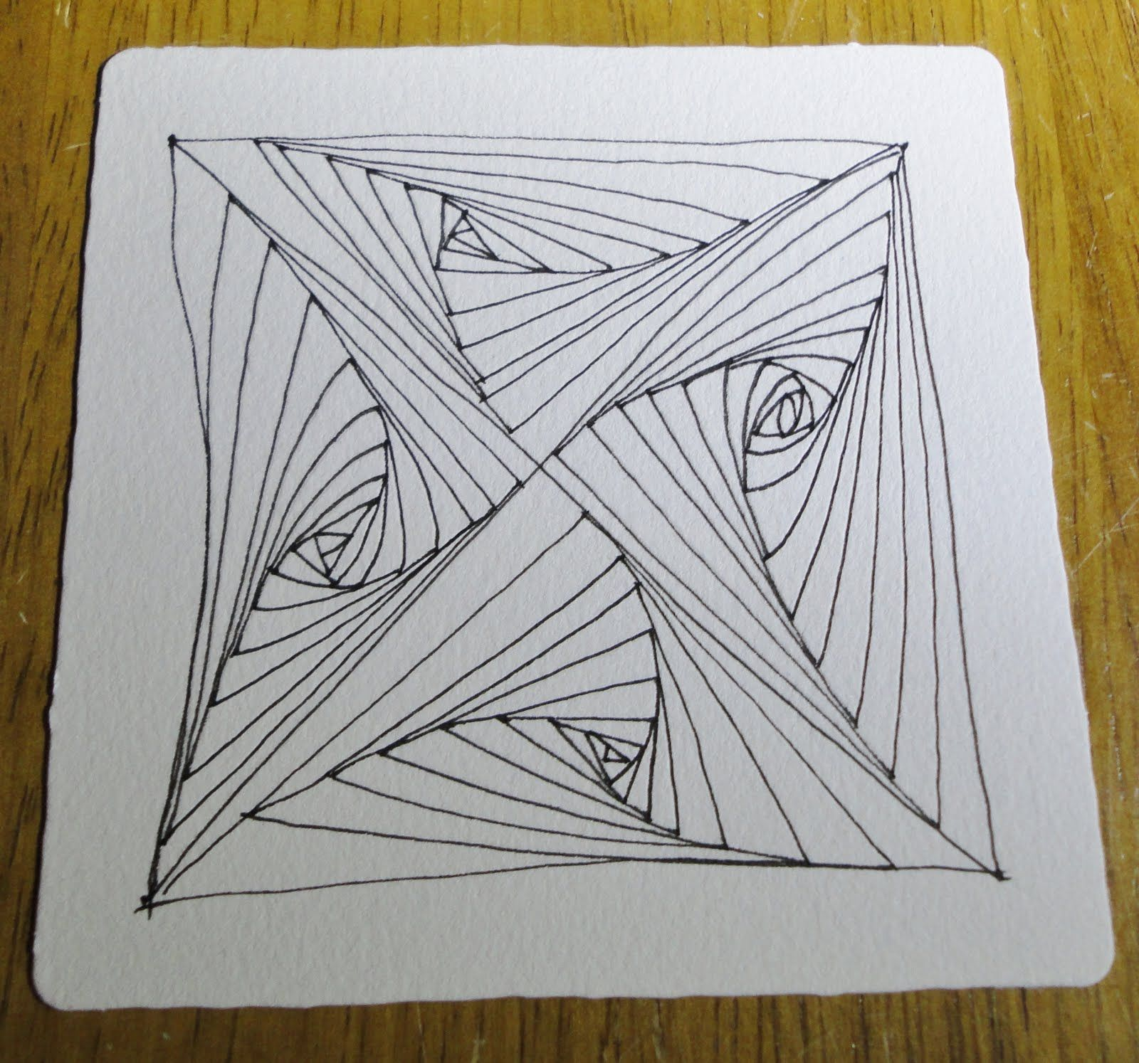 Zentangle Ducks | 501 Quilt Blocks: Zentangle Challenge #38 Better ... : 501 quilt blocks - Adamdwight.com