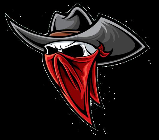 Bandidos Skull And Sombrero