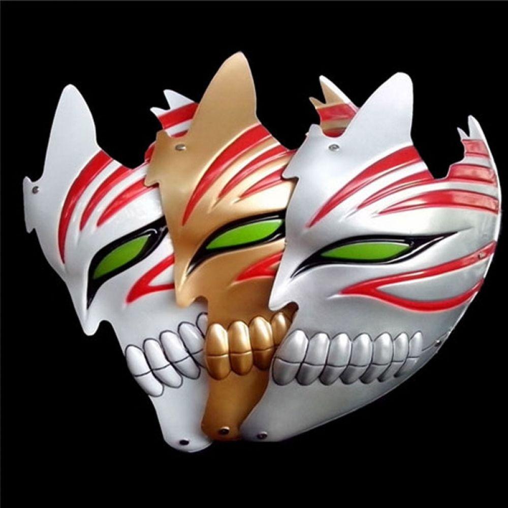 Anime bleach kurosaki ichigo half face mask bleach