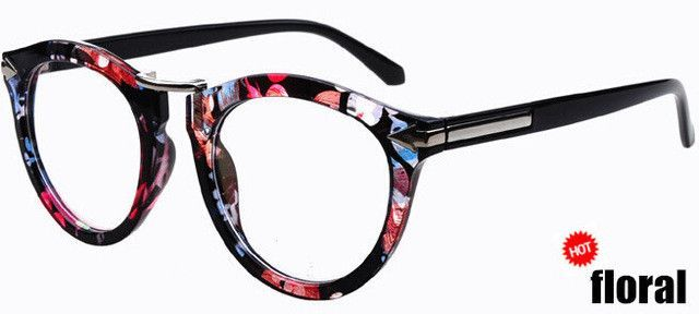 9baa4d3a250 Arrows Neon hip-hop stylish trendy women men solid color round eyeglasses  frame vintage retro frames Spectacles